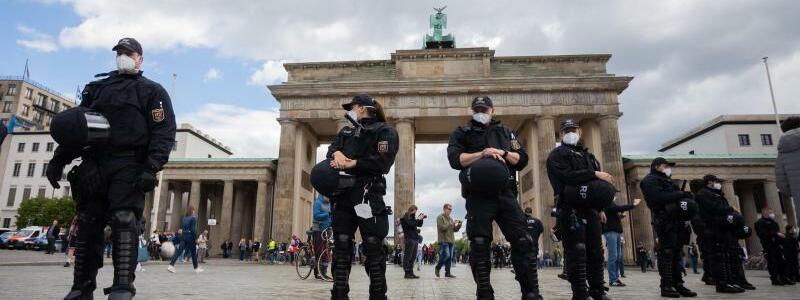 Demonstrationen in Berlin - Foto: Christoph Soeder/dpa