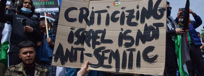 Demonstration in London - Foto: Vuk Valcic/SOPA Images via ZUMA Wire/dpa
