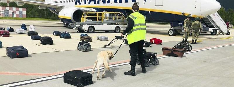 Ryanair-Maschine - Foto: Uncredited/ONLINER.BY/AP/dpa