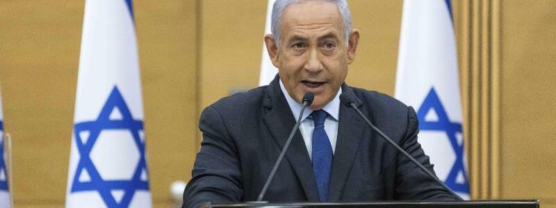 Benjamin Netanjahu - Foto: Yonatan Sindel/Pool Flash 90/AP/dpa
