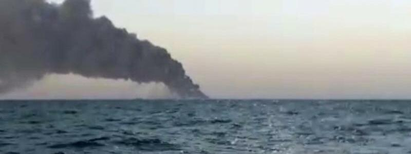 Marine-Schiff gesunken - Foto: Uncredited/ASRIRAN.COM via AP/dpa