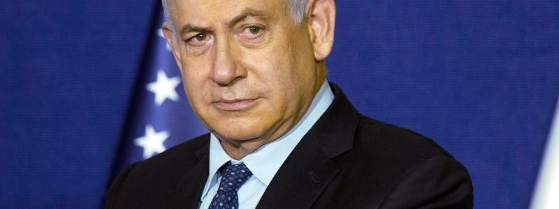 Benjamin Netanjahu - Foto: Maya Alleruzzo/Pool AP/dpa