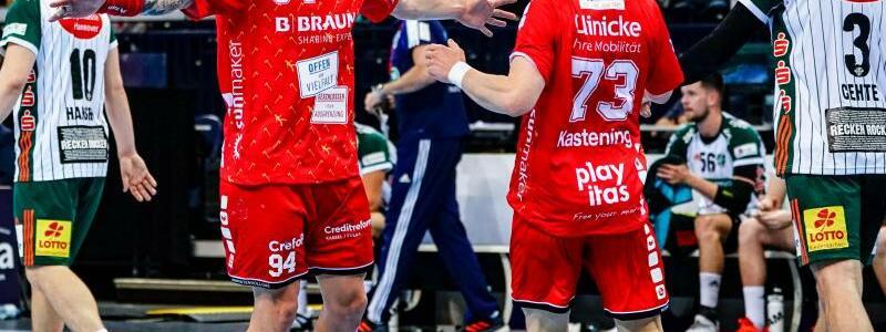 MT Melsungen - TSV Hannover-Burgdorf - Foto: Axel Heimken/dpa