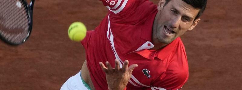 Novak Djokovic - Foto: Christophe Ena/AP/dpa