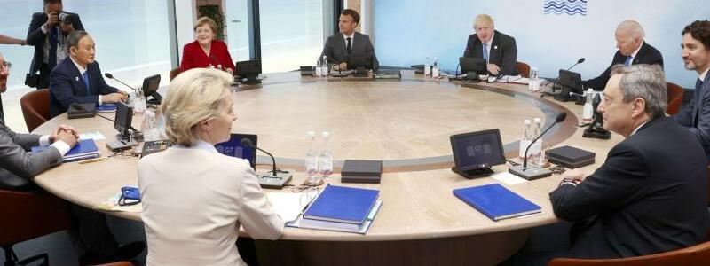 G7-Gipfel - Foto: --/Pool/kyodo/dpa