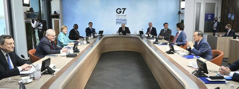G7-Gipfel in Carbis Bay - Foto: Leon Neal/Getty Pool/AP/dpa