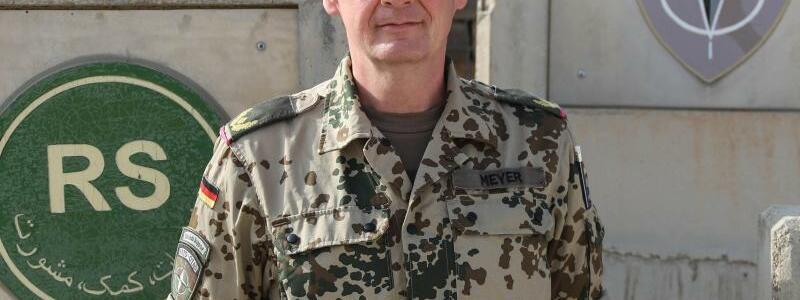 Brigadegeneral Ansgar Meyer - Foto: Hf Rene Teich/Bundeswehr/dpa
