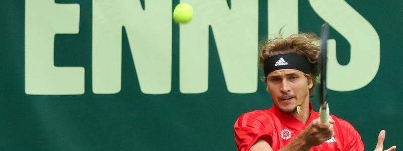 ATP-Turnier in Halle - Foto: Friso Gentsch/dpa