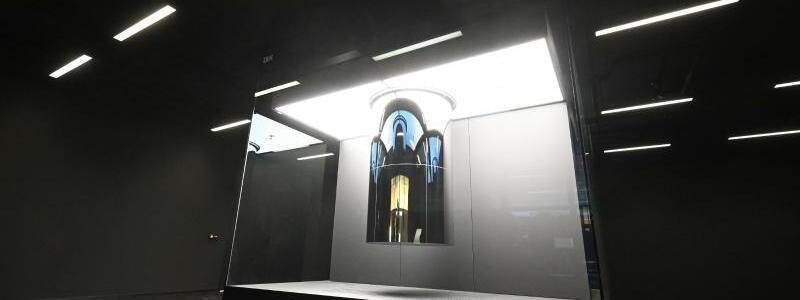Erster kommerziell genutzter Quantencomputer - Foto: Der erste kommerziell genutzten Quantencomputer in Europa. Das hochkomplexe und ultraschnelle System wird am Deutschlandsitz des IT-Unternehmens in Ehningen vorgestellt und soll unter dem Dach der Fraunhofer-Gesellschaft dazu genutzt werden, die Technolog