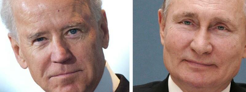 Joe Biden und Wladimir Putin - Foto: Alexei Druzhinin/dpa