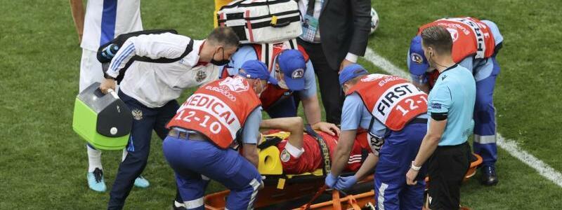 Verletzt - Foto: Anton Vaganov/Reuters Pool/AP/dpa
