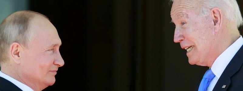 Biden Putin Gipfel in Genf - Foto: Denis Balibouse/Pool Reuters/dpa