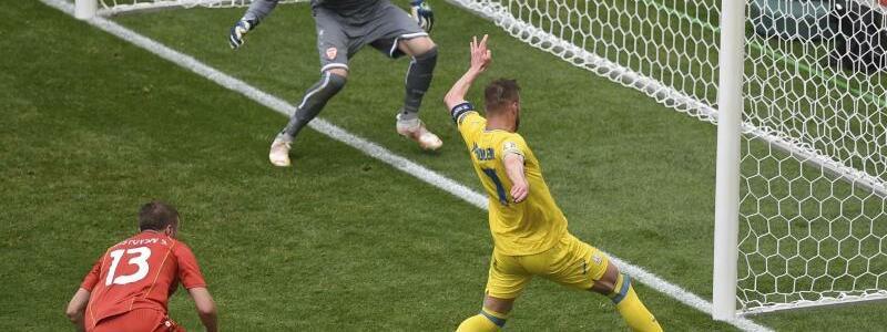 1:0 - Foto: Mihai Barbu/AFP Pool/AP/dpa