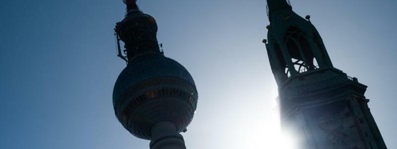 Hitze in Berlin - Foto: Christophe Gateau/dpa
