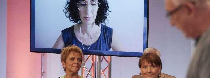Bekanntgabe des Ingeborg-Bachmann-Preises - Foto: Johannes Puch/ORF/dpa