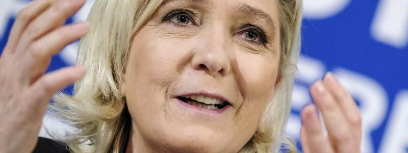 Marine Le Pen - Foto: Hendrik Osula/AP/dpa