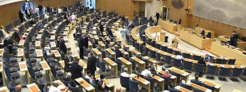 Parlament in Stockholm - Foto: Claudio Bresciani/TT NEWS AGENCY/AP/dpa