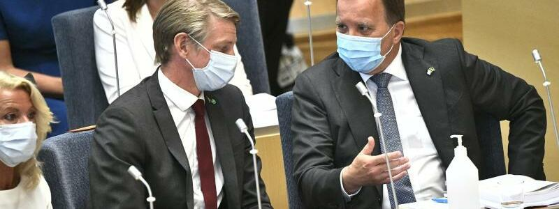 Schwedische Regierung - Foto: Claudio Bresciani/TT NEWS AGENCY/AP/dpa