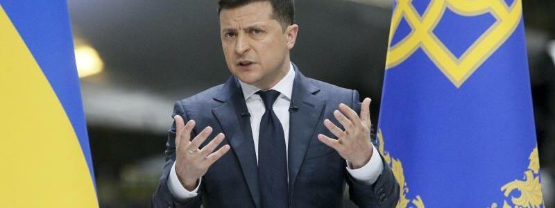 Wolodymyr Selenskyj - Foto: Efrem Lukatsky/AP/dpa