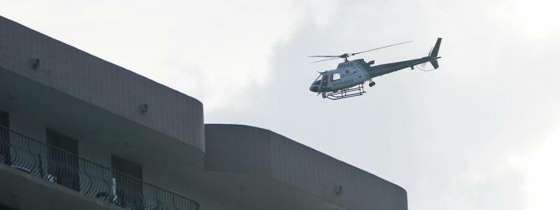 Hubschrauber - Foto: Wilfredo Lee/AP/dpa
