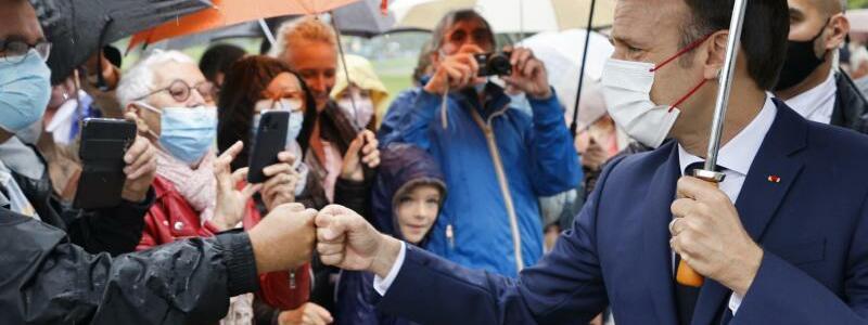 Emmanuel Macron - Foto: Ludovic Marin/POOL AFP/AP/dpa