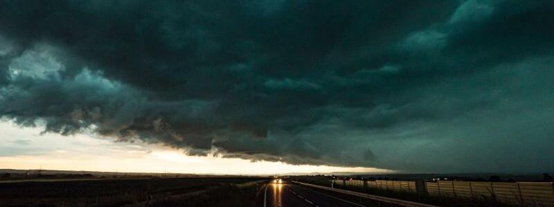 Shelf Cloud - Foto: Alexander Hald/vmd-images/dpa