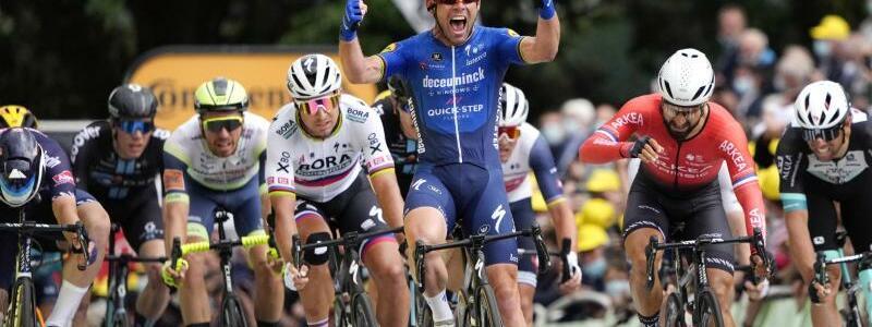 Mark Cavendish - Foto: Daniel Cole/AP/dpa