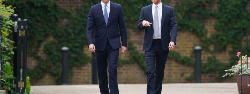 William & Harry - Foto: Yui Mok/PA Wire/dpa