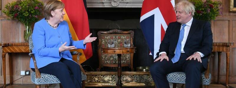 Bundeskanzlerin Merkel zu Besuch in Gro?britannien - Foto: Stefan Rousseau/PA Wire/dpa