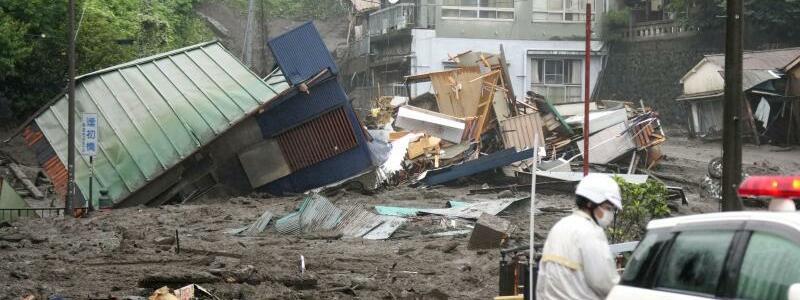 Erdrutsch in Japan - Foto: Naoya Osato/Kyodo News/AP/dpa