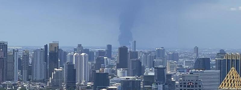 Thailand - Explosion in Fabrik - Foto: Tina Liu/AP/dpa