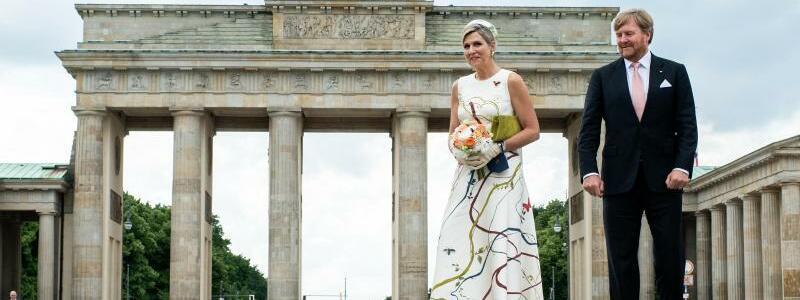 Niederl?ndisches K?nigspaar besucht Deutschland - Foto: Bernd von Jutrczenka/dpa