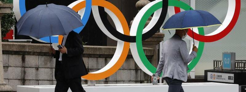 Olympische Ringe - Foto: Rodrigo Reyes Marin/ZUMA Wire/dpa