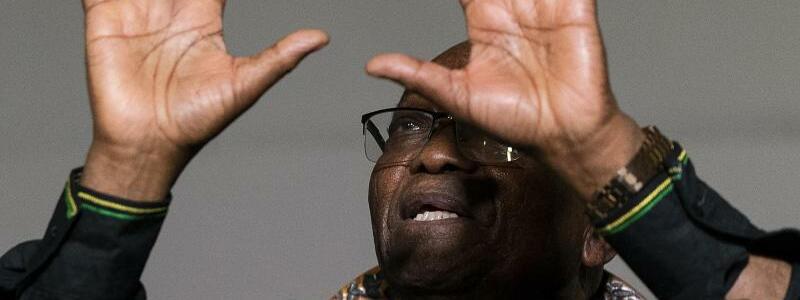 Zuma - Foto: Shiraaz Mohamed/AP/dpa