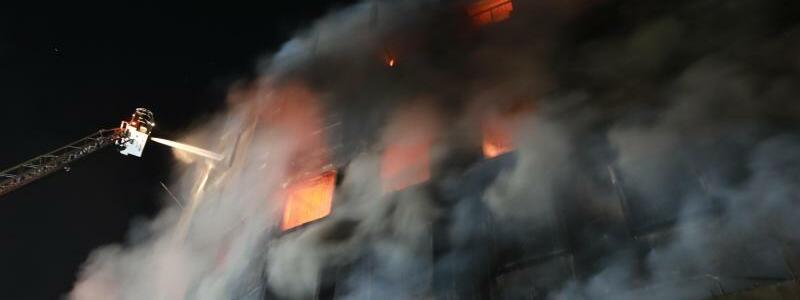 Fabrikbrand in Bangladesch - Foto: Harun-Or-Rashid/ZUMA Wire/dpa