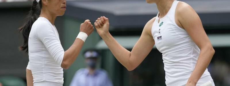 Wimbledon-Titel im Damen-Doppel - Foto: Kirsty Wigglesworth/AP/dpa
