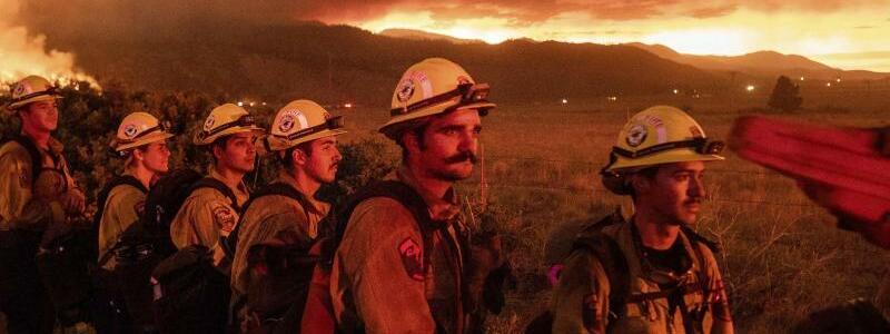 Feuer - Foto: Noah Berger/AP/dpa