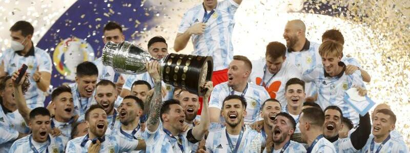 Argentinisches Team - Foto: Andre Penner/AP/dpa