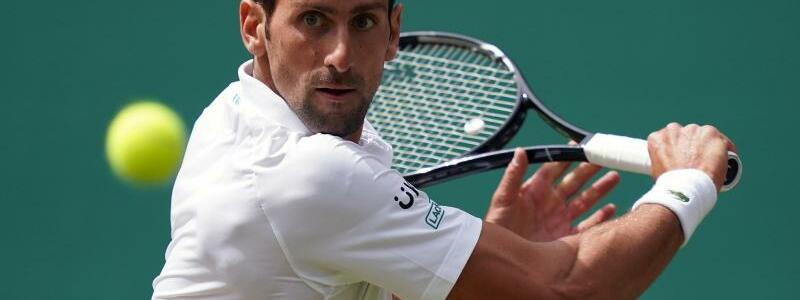 Novak Djokovic - Foto: John Walton/PA Wire/dpa