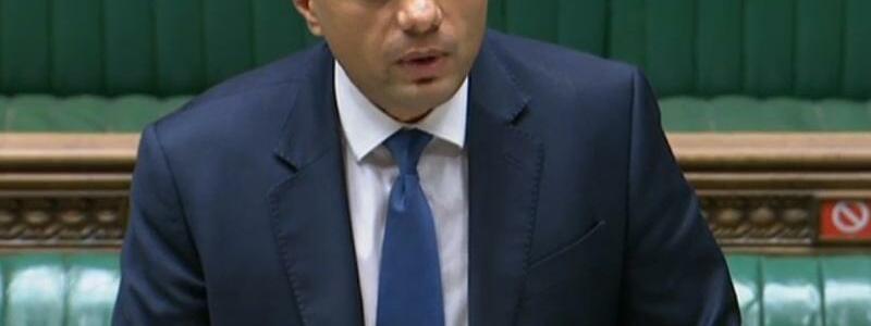Sajid Javid - Foto: ---/House of Commons/PA Wire/dpa