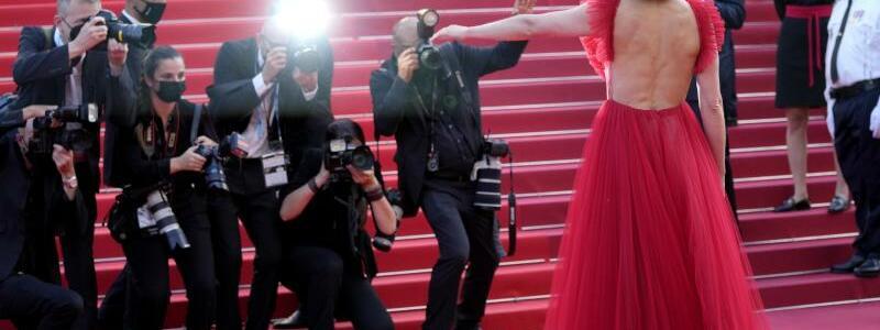 Filmfestival Cannes - Rosamunde Pike - Foto: Vadim Ghirda/AP/dpa