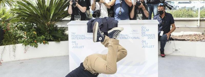 Filmfestival Cannes - Jean Dujardin - Foto: Vianney Le Caer/Invision/AP/dpa