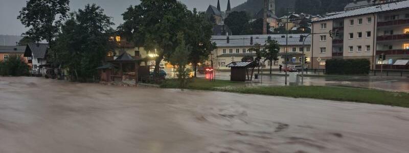 Unwetter in Bayern - Foto: Kilian Pfeiffer/dpa
