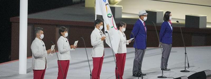 Olympischer Eid - Foto: Michael Kappeler/dpa