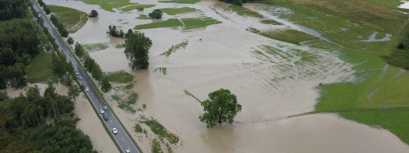 Hochwasser - Foto: Davor Knappmeyer/dpa
