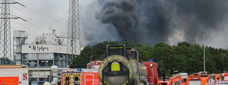 Einsatz in Leverkusen - Foto: Oliver Berg/dpa