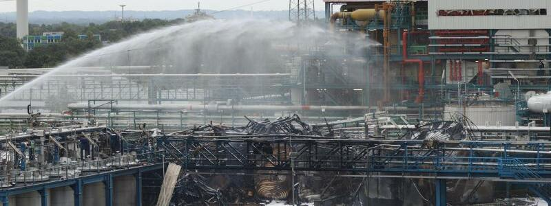 Nach der Explosion im Leverkusener Chempark - Foto: Chempark/Currenta GmbH