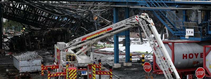Nach der Explosion - Foto: Chempark/Currenta GmbH