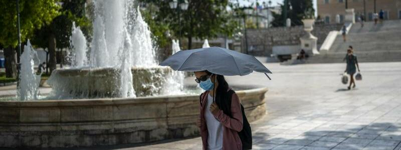 Hitze in Athen - Foto: Angelos Tzortzinis/dpa