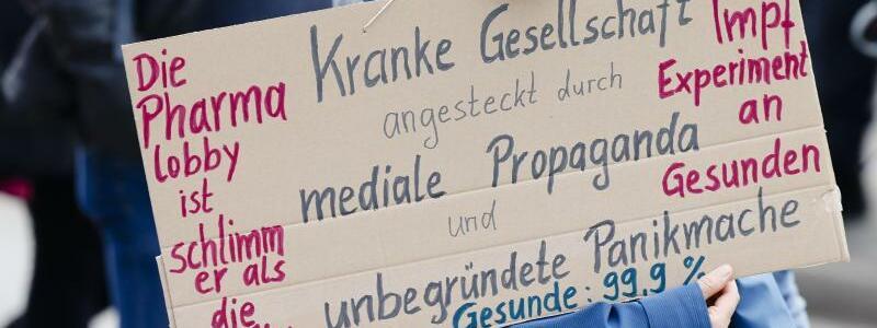 Demo-Schild - Foto: Frank Molter/dpa